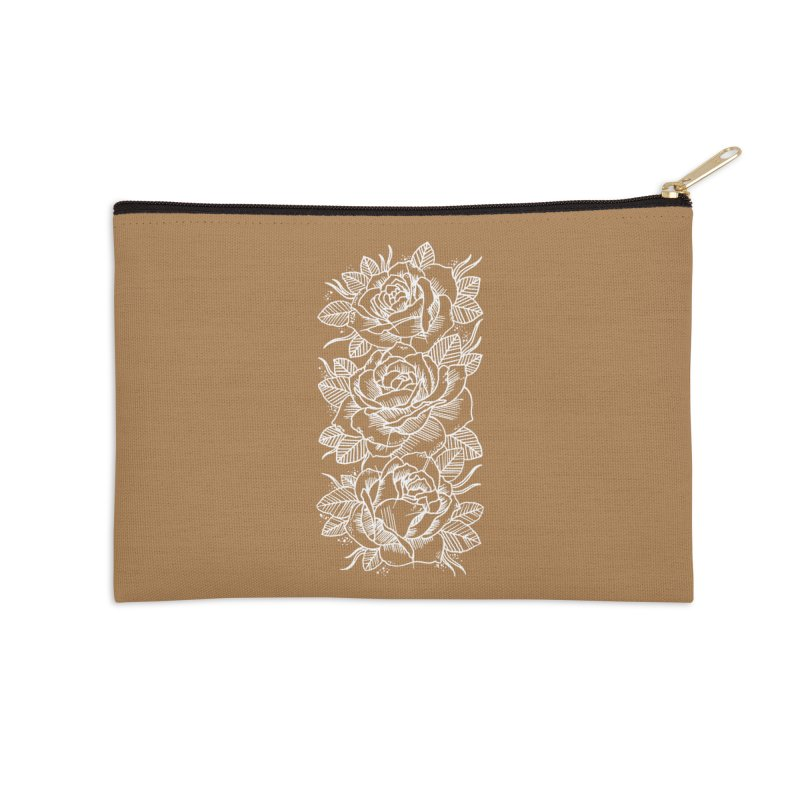 Negative Attitude Roses Accessories Zip Pouch by pesst's Artist Shop