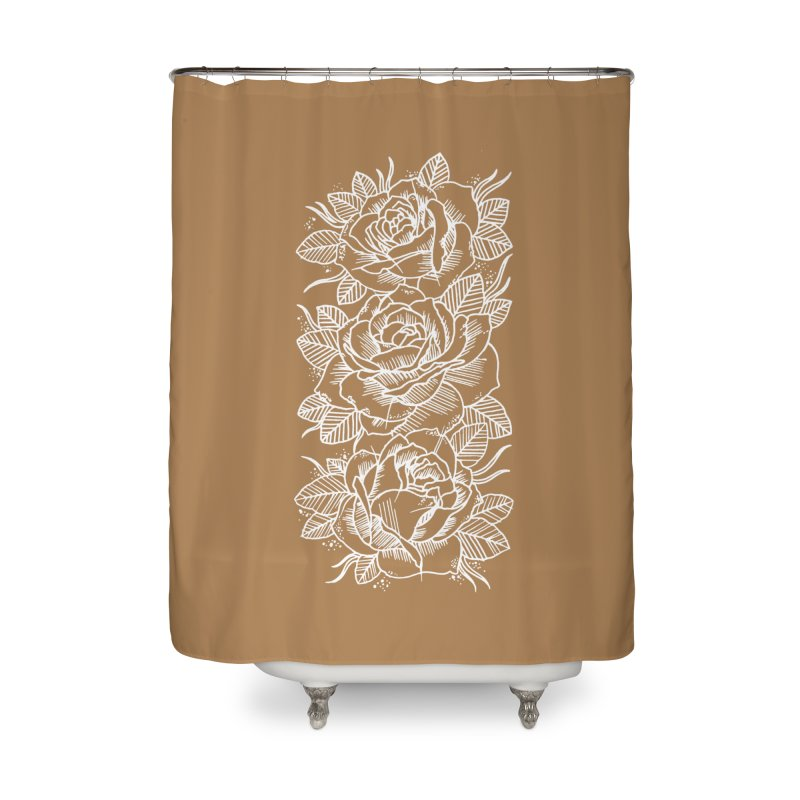 Negative Attitude Roses Home Shower Curtain by pesst's Artist Shop