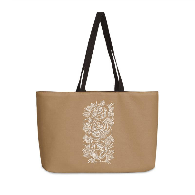 Negative Attitude Roses Accessories Weekender Bag Bag by pesst's Artist Shop