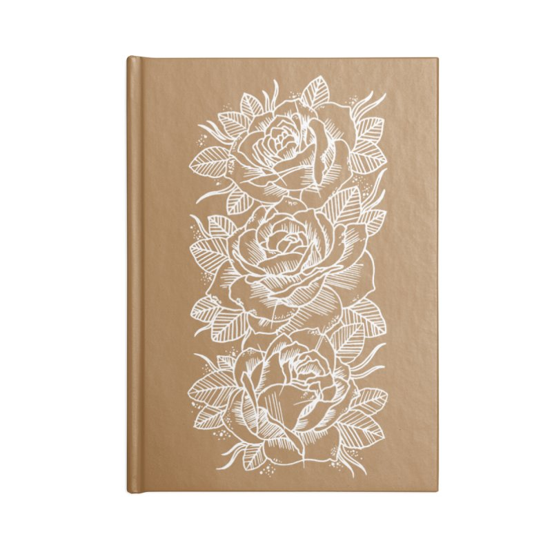 Negative Attitude Roses Accessories Lined Journal Notebook by pesst's Artist Shop