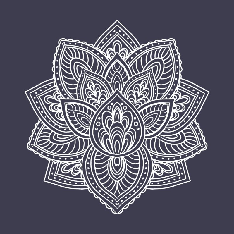 Paisley Lotus None  by pesst's Artist Shop