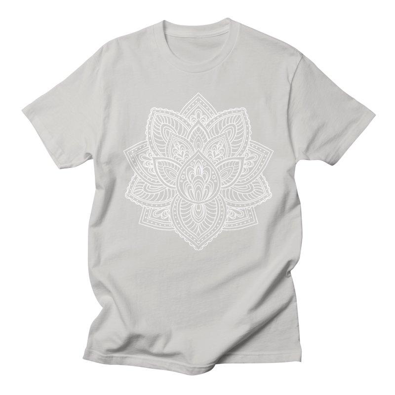 Paisley Lotus Women's Regular Unisex T-Shirt by pesst's Artist Shop