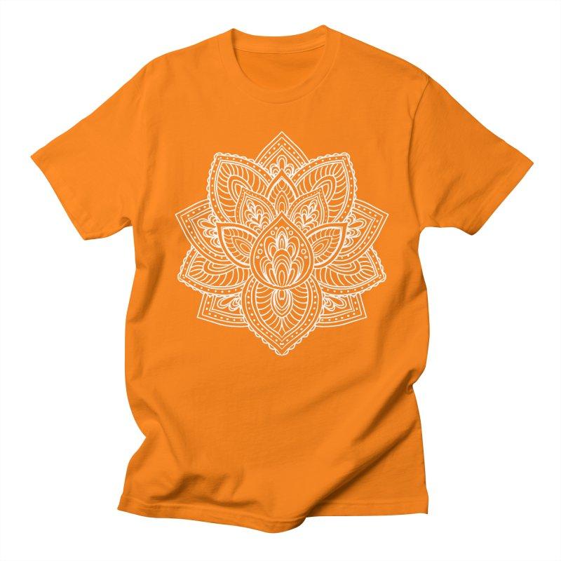 Paisley Lotus Men's Regular T-Shirt by pesst's Artist Shop