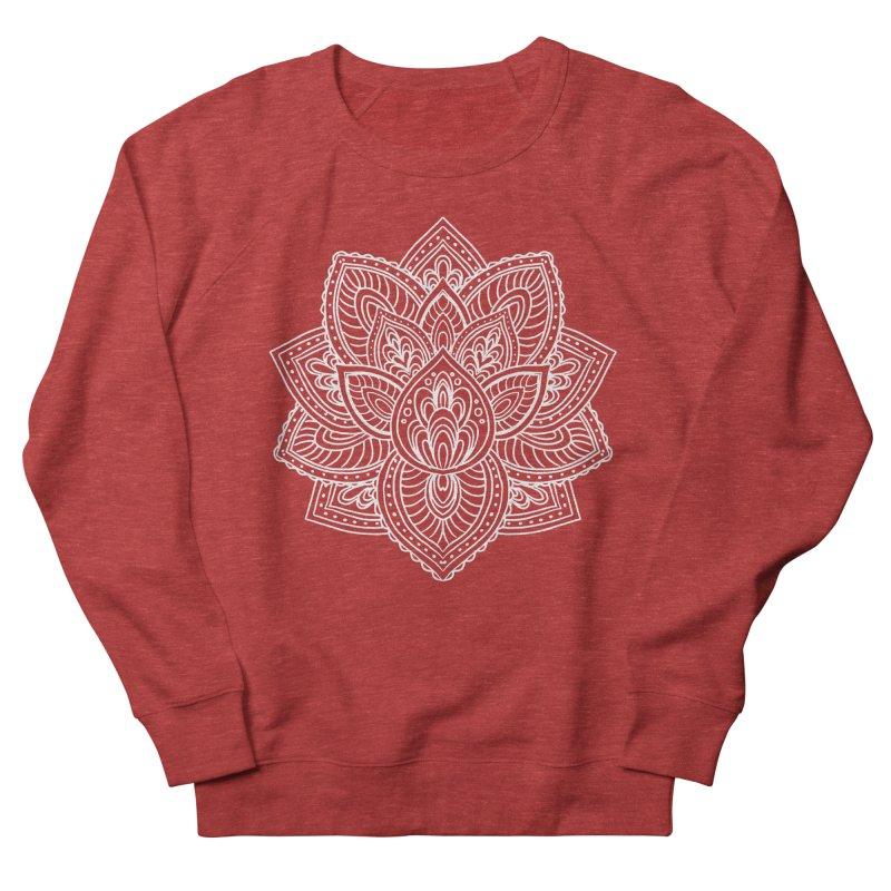 Paisley Lotus Women's French Terry Sweatshirt by pesst's Artist Shop