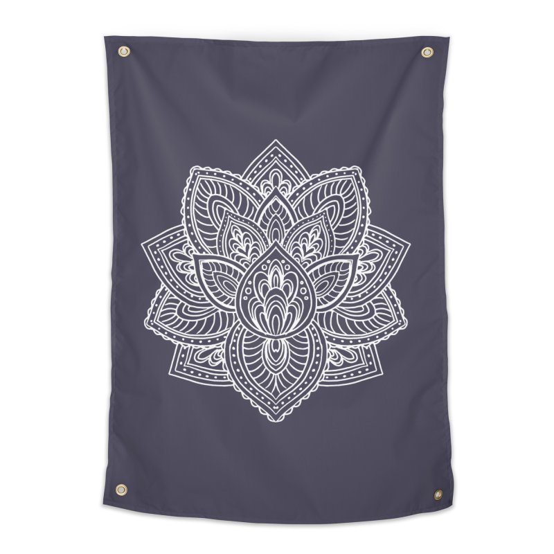 Paisley Lotus Home Tapestry by pesst's Artist Shop