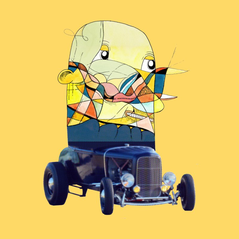 hotrod by peterthompson's Artist Shop