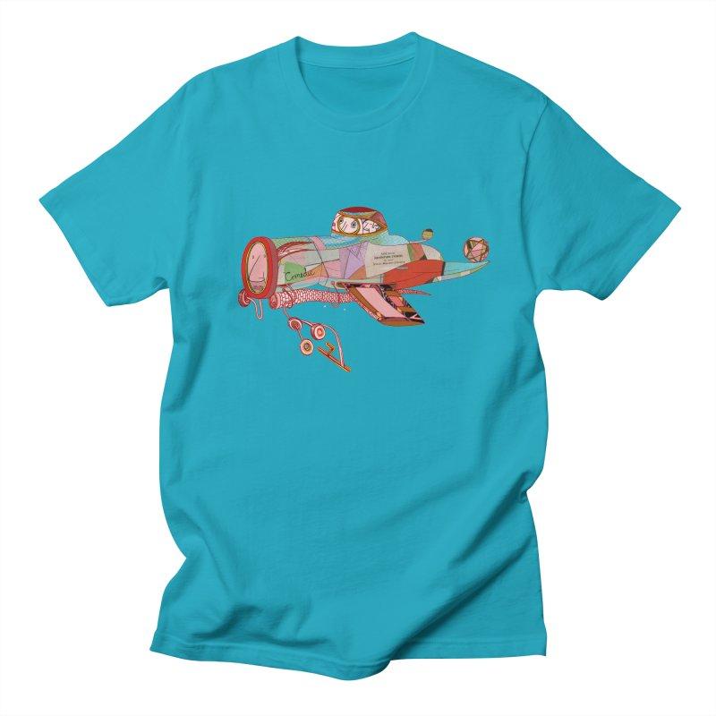 comedic Men's T-Shirt by peterthompson's Artist Shop