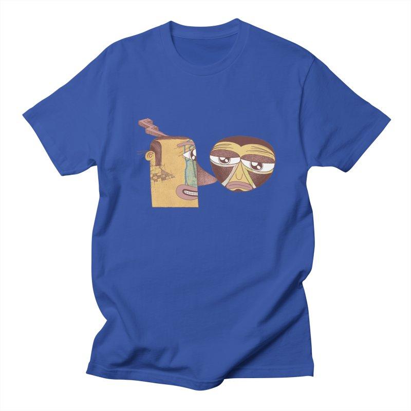 let me be blunt Men's T-shirt by peterthompson's Artist Shop