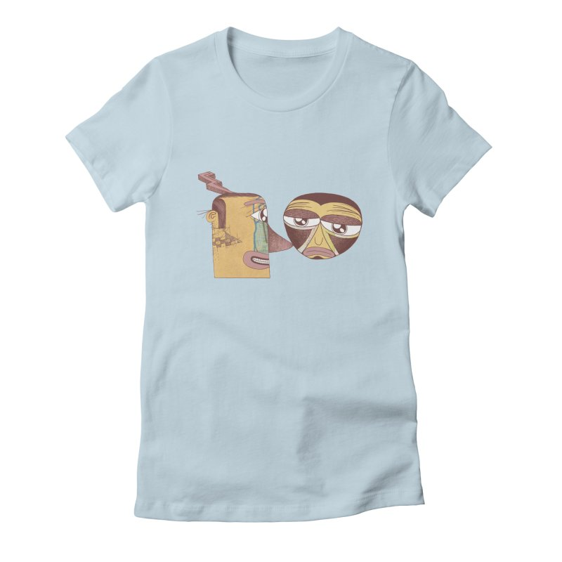 let me be blunt Women's Fitted T-Shirt by peterthompson's Artist Shop