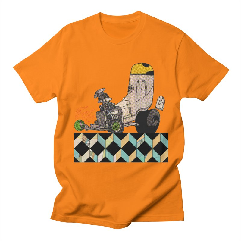 hotrod explosion Men's T-Shirt by peterthompson's Artist Shop