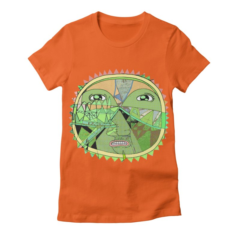 sunshiny fellow Women's Fitted T-Shirt by peterthompson's Artist Shop