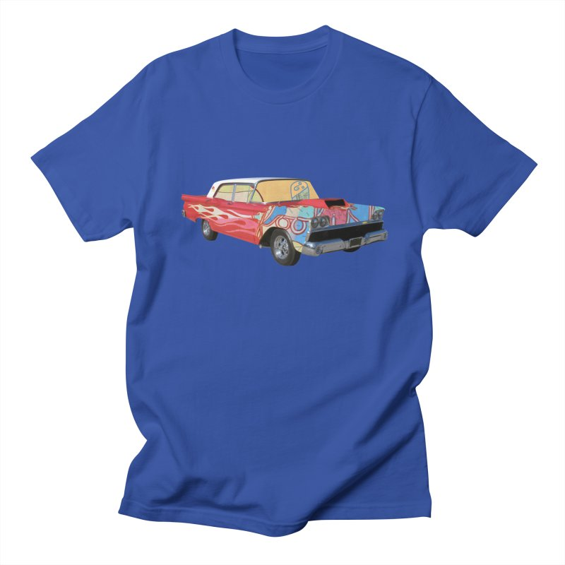 foolish hotrod Men's T-Shirt by peterthompson's Artist Shop