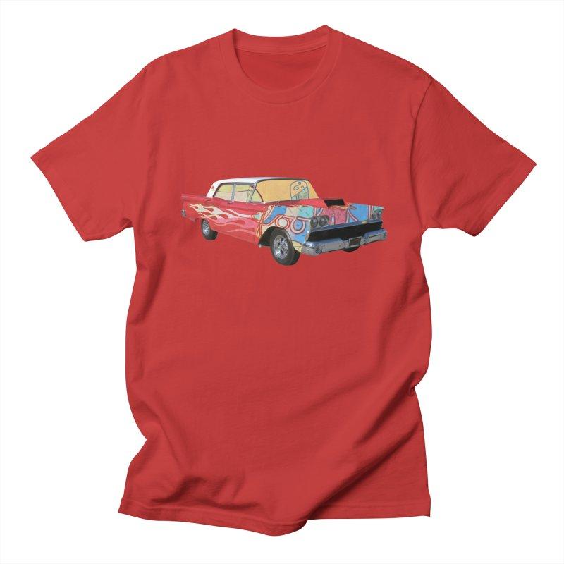foolish hotrod Men's T-Shirt by peterthompson's Artist Shop