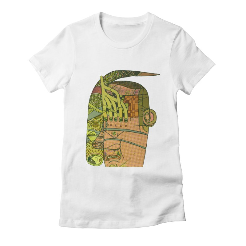 bzzzz Women's Fitted T-Shirt by peterthompson's Artist Shop