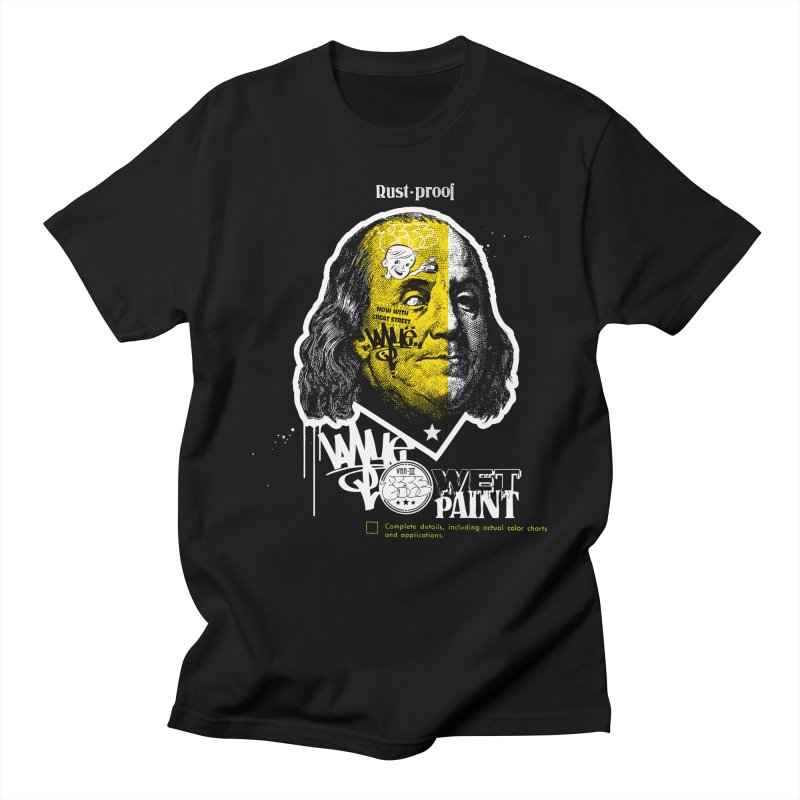 Blackout Ben - Winter Void Palette Men's T-Shirt by PeterVanFlores