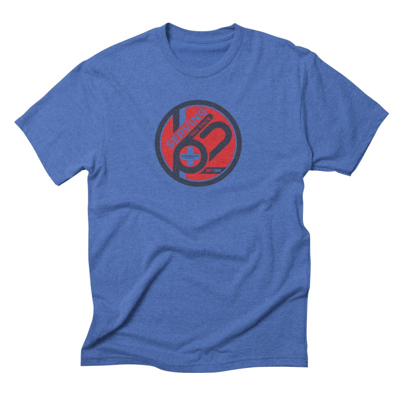 SMSP - Serving You Since 62 Men's Triblend T-Shirt by Walters Media & Design