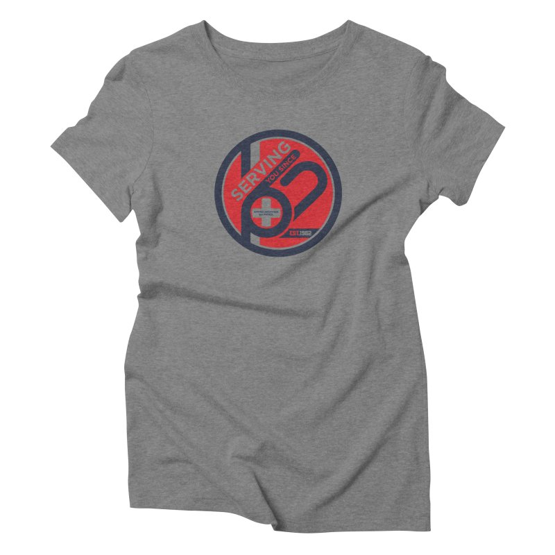 SMSP - Serving You Since 62 Women's Triblend T-Shirt by Walters Media & Design