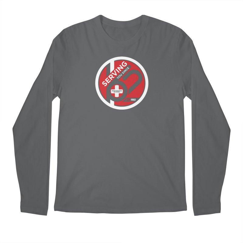Serving You Reverse Men's Regular Longsleeve T-Shirt by Walters Media & Design
