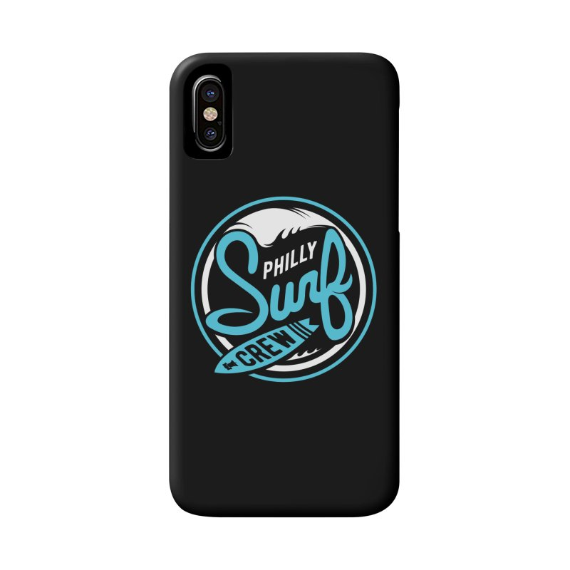 PSC LOGO - BLUE AND WHITE Accessories Phone Case by Walters Media & Design