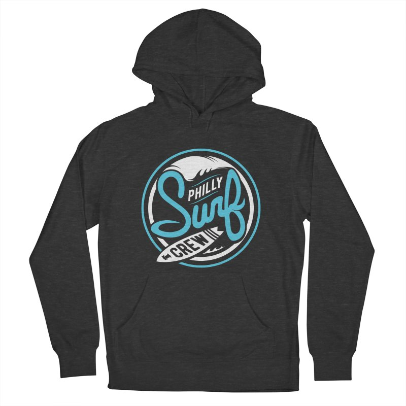 PSC LOGO - BLUE AND WHITE Men's Pullover Hoody by Walters Media & Design