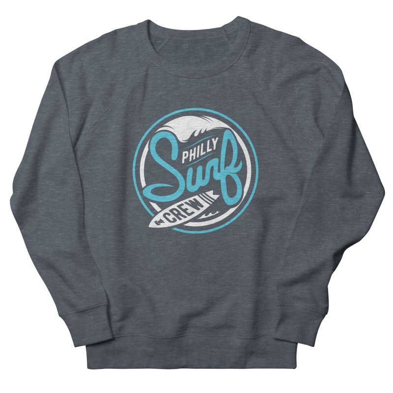 PSC LOGO - BLUE AND WHITE Men's Sweatshirt by Walters Media & Design