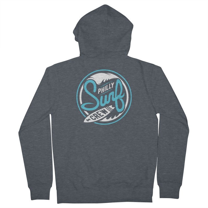 PSC LOGO - BLUE AND WHITE Women's Zip-Up Hoody by Walters Media & Design