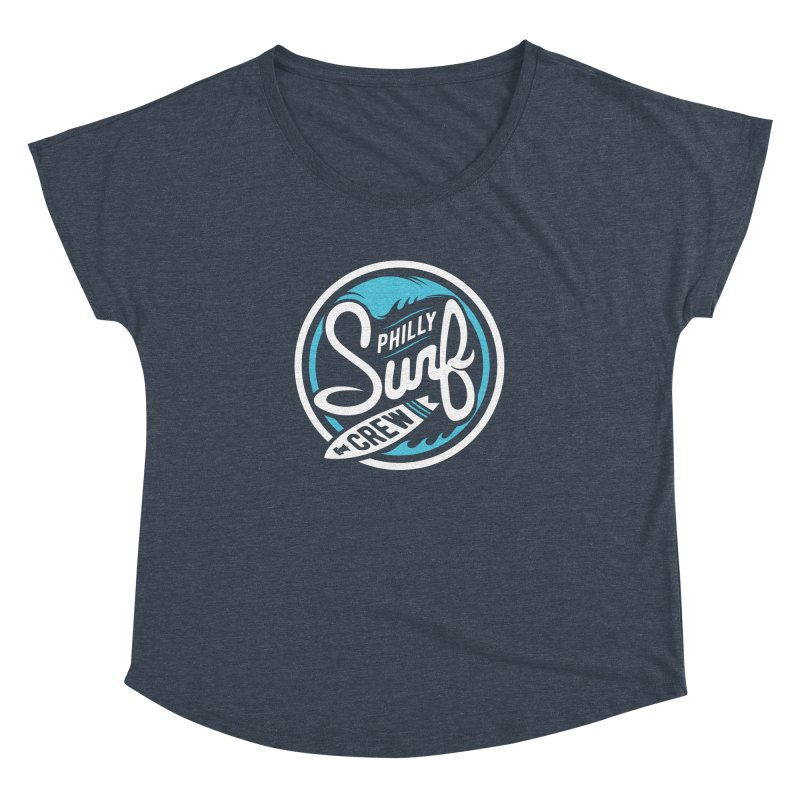 PSC LOGO - BLUE AND WHITE Women's Dolman by Walters Media & Design