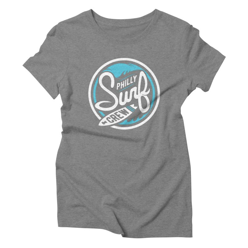 PSC LOGO - BLUE AND WHITE Women's Triblend T-Shirt by Walters Media & Design