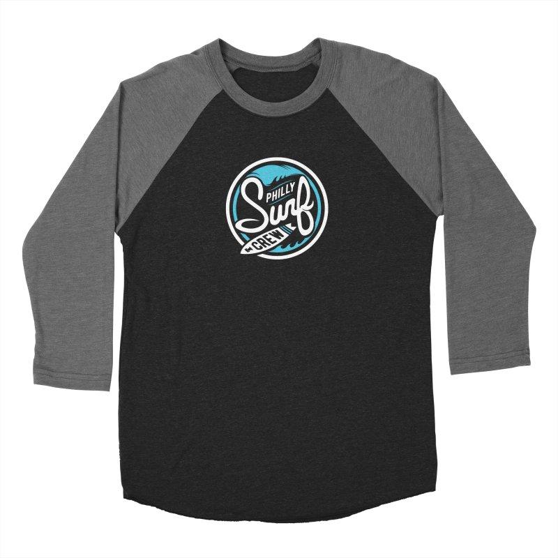 PSC LOGO - BLUE AND WHITE Men's Baseball Triblend Longsleeve T-Shirt by Walters Media & Design