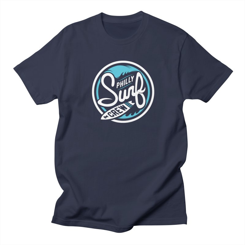 PSC LOGO - BLUE AND WHITE Women's Regular Unisex T-Shirt by Walters Media & Design