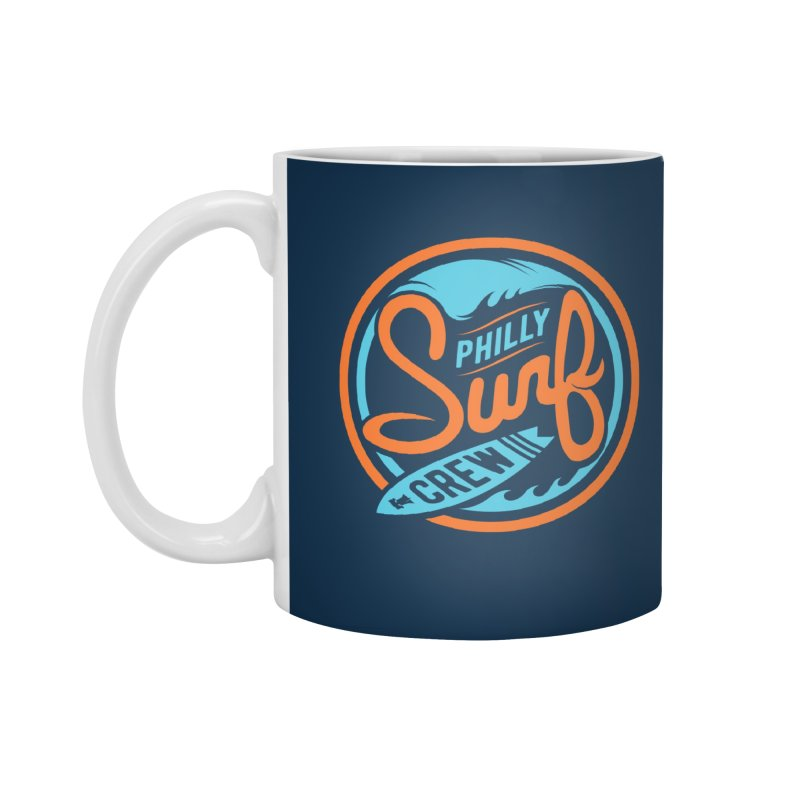 PSC LOGO - BLUE AND ORANGE Accessories Standard Mug by Walters Media & Design