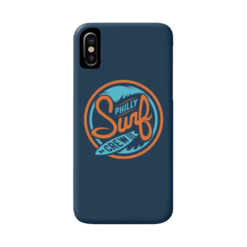 PSC LOGO - BLUE AND ORANGE Accessories Phone Case by Walters Media & Design