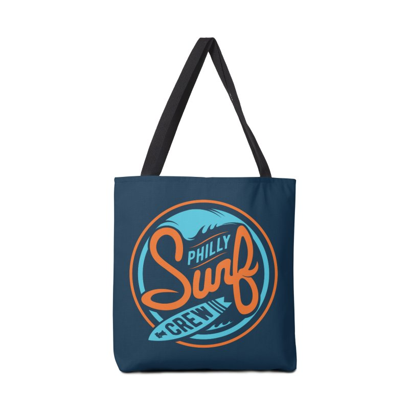 PSC LOGO - BLUE AND ORANGE Accessories Tote Bag Bag by Walters Media & Design