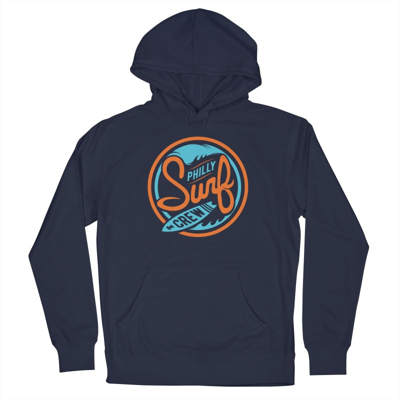 PSC LOGO - BLUE AND ORANGE Women's French Terry Pullover Hoody by Walters Media & Design