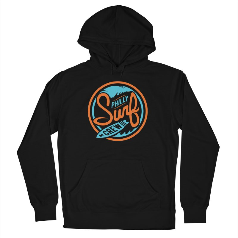 PSC LOGO - BLUE AND ORANGE Men's French Terry Pullover Hoody by Walters Media & Design