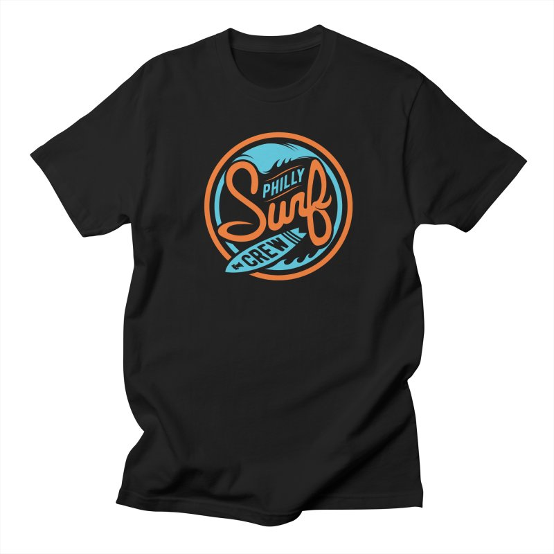 PSC LOGO - BLUE AND ORANGE Women's Regular Unisex T-Shirt by Walters Media & Design