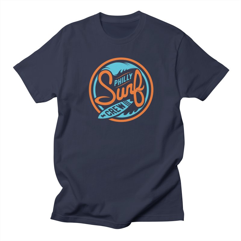 PSC LOGO - BLUE AND ORANGE Men's Regular T-Shirt by Walters Media & Design