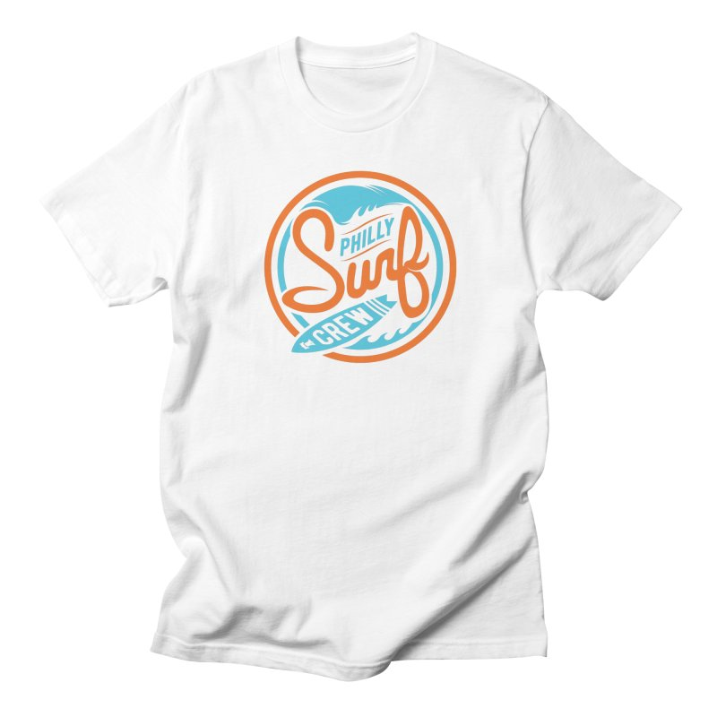 PSC LOGO - BLUE AND ORANGE Men's T-Shirt by Walters Media & Design