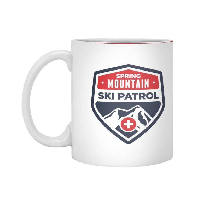 Spring Mountain Ski Patrol in Standard Mug White by Walters Media & Design