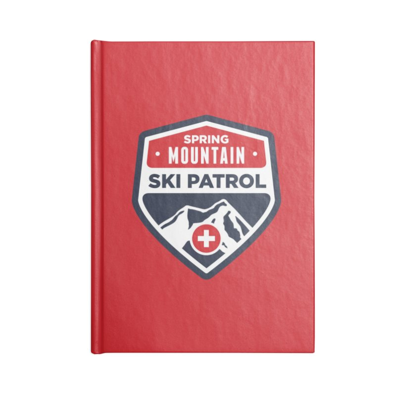 Spring Mountain Ski Patrol Accessories Notebook by Walters Media & Design