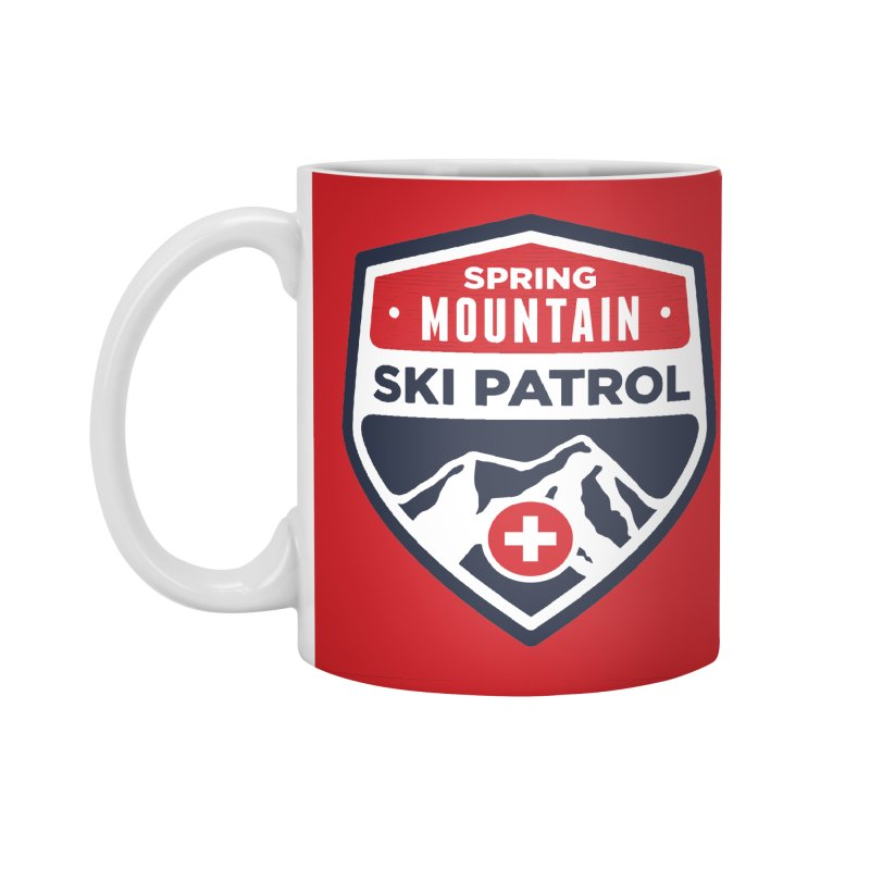 Spring Mountain Ski Patrol Accessories Mug by Walters Media & Design
