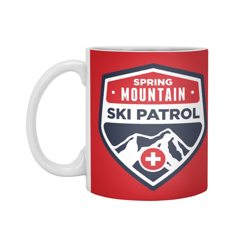 Spring Mountain Ski Patrol Accessories Standard Mug by Walters Media & Design