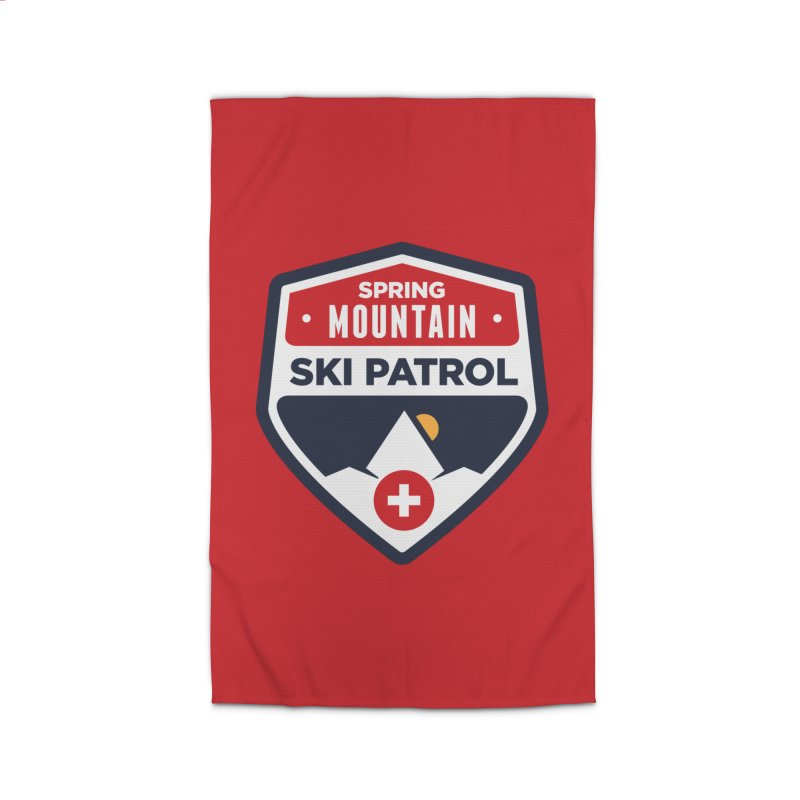Spring Mountain Ski Patrol Home Rug by Walters Media & Design