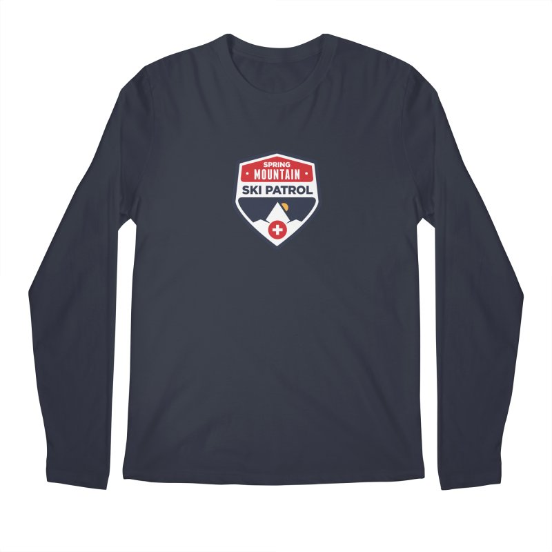 Spring Mountain Ski Patrol Men's Longsleeve T-Shirt by Walters Media & Design