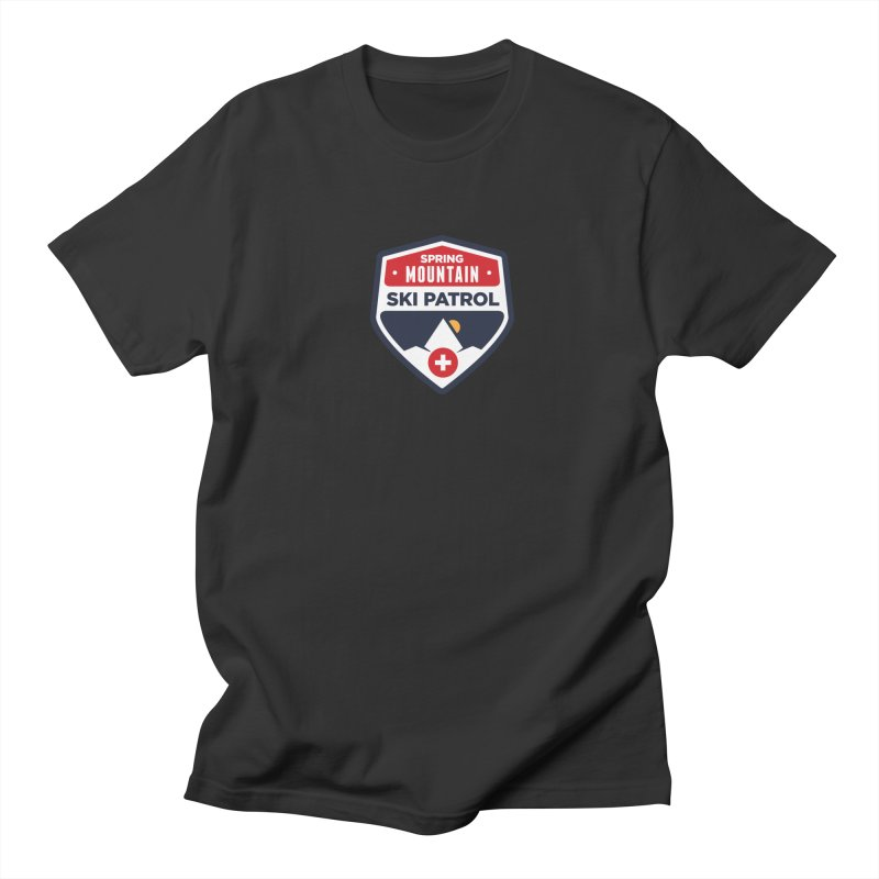 Spring Mountain Ski Patrol Women's Unisex T-Shirt by Walters Media & Design
