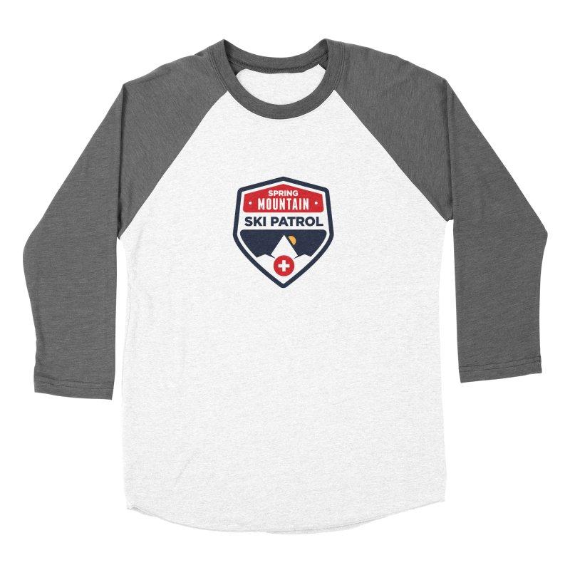 Spring Mountain Ski Patrol Women's Baseball Triblend T-Shirt by Walters Media & Design