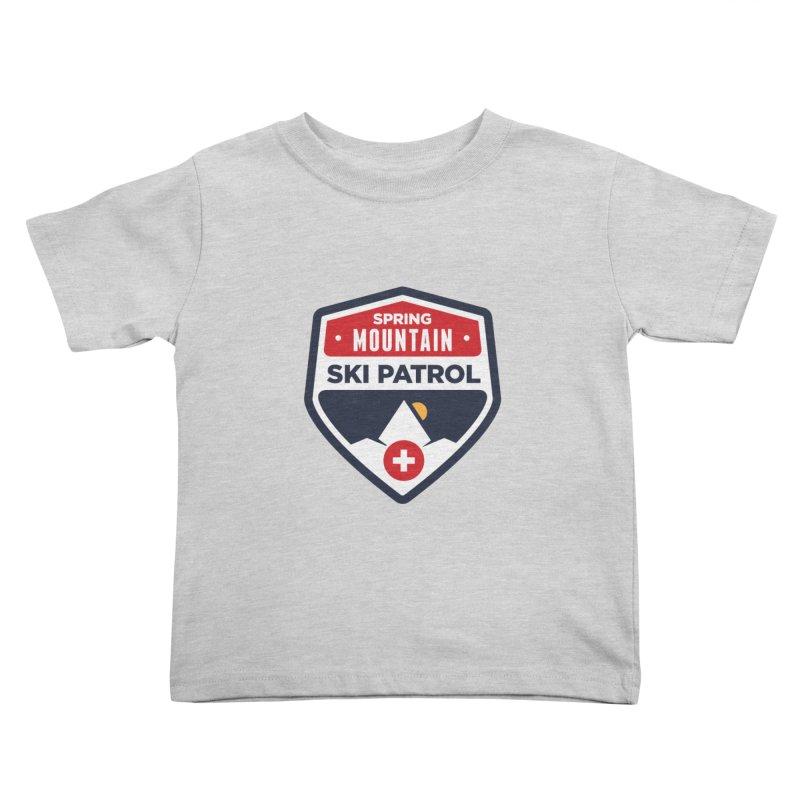 Spring Mountain Ski Patrol Kids Toddler T-Shirt by Walters Media & Design