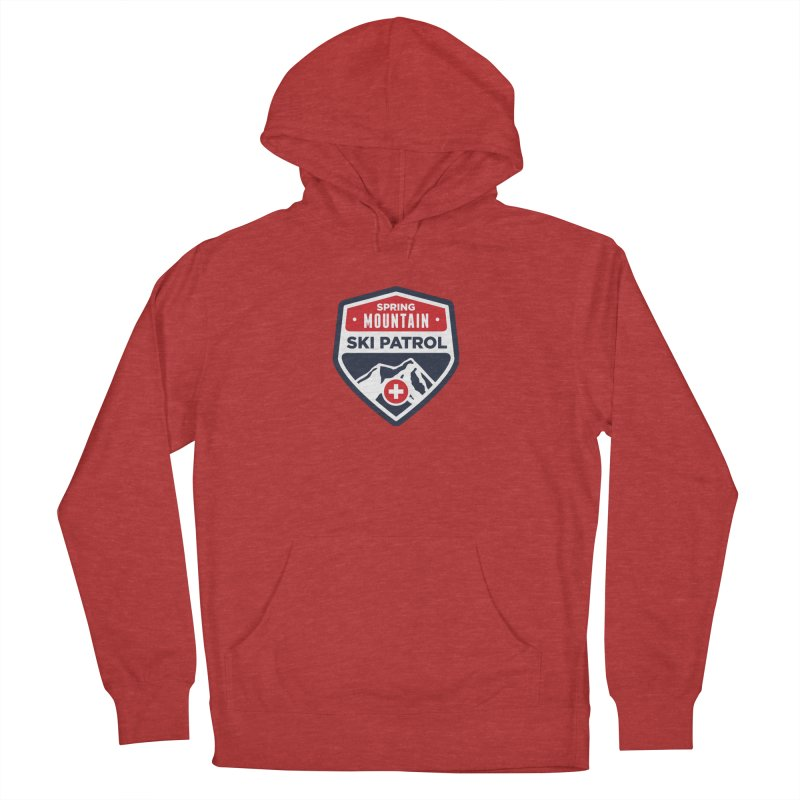 Spring Mountain Ski Patrol Women's French Terry Pullover Hoody by Walters Media & Design