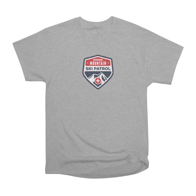 Spring Mountain Ski Patrol Men's Heavyweight T-Shirt by Walters Media & Design
