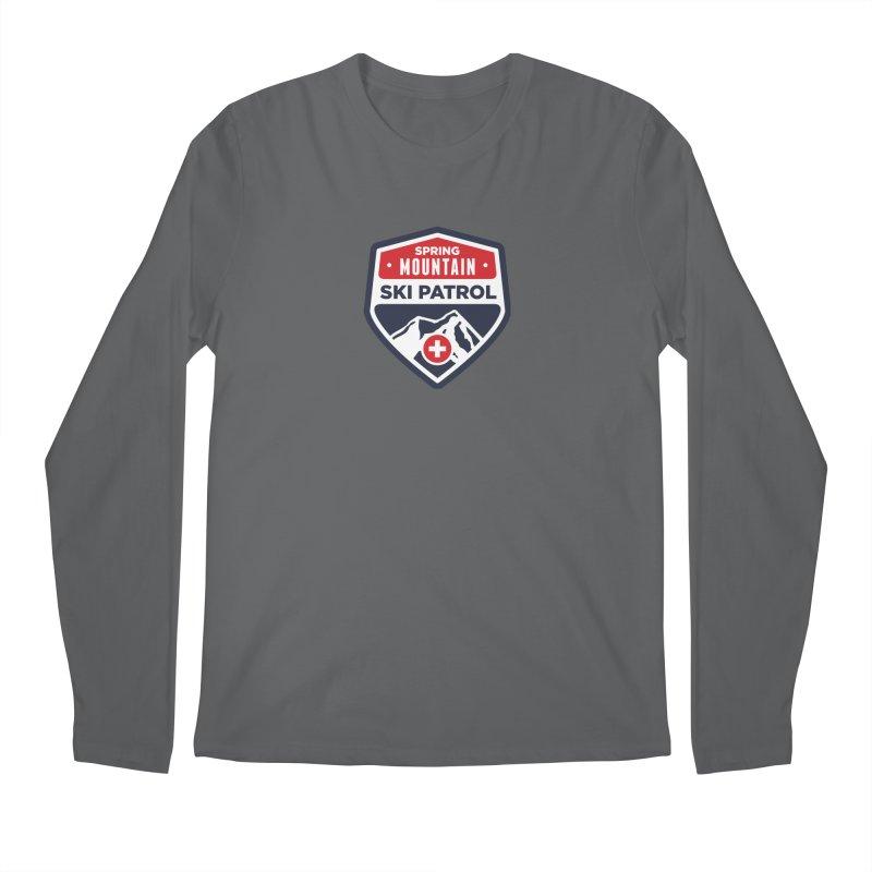 Spring Mountain Ski Patrol Men's Longsleeve T-Shirt by Walters Media & Design
